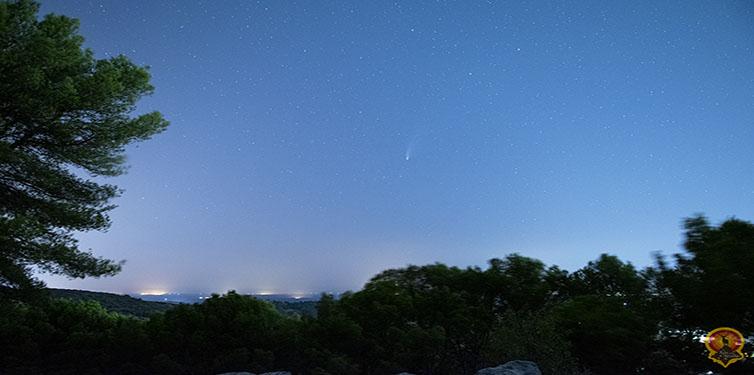 El cometa Neowise