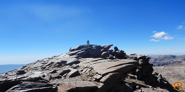 Mulhacén desde el Alto del Chorrillo (Sierra Nevada)