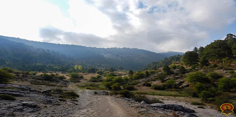 Pico Empanada desde Rambla seca (Sierra de Segura)